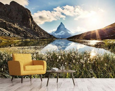 Matterhorn Switzerland wall mural wallpaper Premium